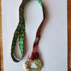 おんらいん京都マラソン2021完走メダル(R3.4.10)