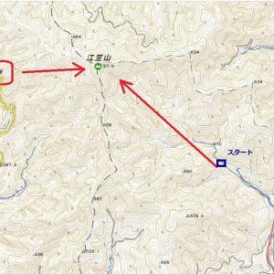 江笠山(727.5m)登山(R3.9.25)