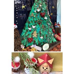 くり返すのね ヽ(´ー`) * クリスマスデコレーションのショーウィンドウ