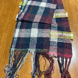 すかし織りストール2