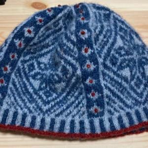 フェアアイル 帽子