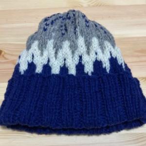 MIKNITS ノルディックのポンポン帽