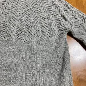 Fyn もみの木のセーター 完成