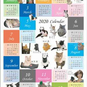 ウチの子年間カレンダー おかっぱさん宅♪