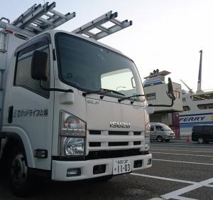 佐渡島にて薪ストーブ設置工事