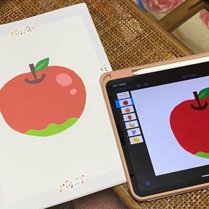 ●iPadで果物リズム