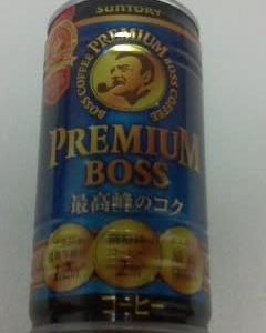 サントリー BOSS(ボス) プレミアム・微糖