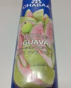 チャバジャパン フルーツミックスジュース グアバアンドグレープ