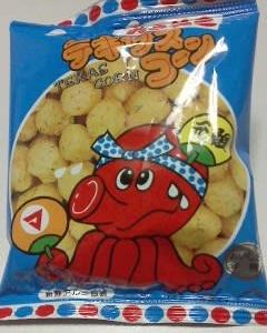 松山製菓 テキサスコーン たこやき味・フライドチキン味