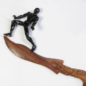 数十年選手の木製ペーパーナイフ(その1)