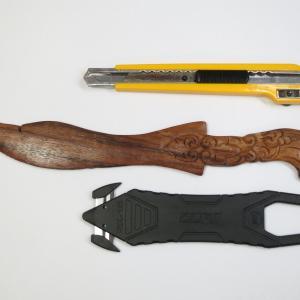 数十年選手の木製ペーパーナイフ(その2)