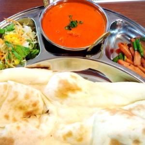 今日はインド料理な気分なの。