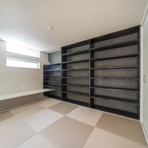 本棚|和室に本棚を造作しカウンターを設置