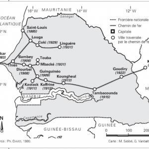 セネガルの鉄道④:ダーラ駅とリンゲール駅