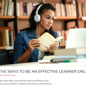 13 EFFECTIVE WAYS TO BE AN EFFECTIVE LEARNER