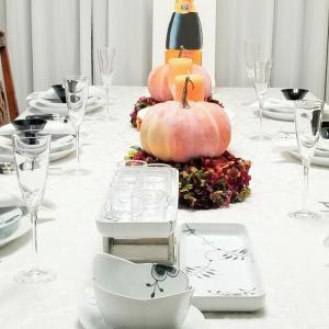 エミココキッチン10月☆おもてなしのテーブルコーディネートはハロウィン。。テイストで。。