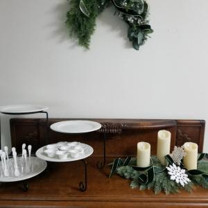 エミココキッチン3日目☆テーブルコーディネートはシックな大人のクリスマスでね☆
