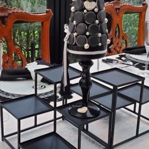 エミココテーブルコーディネート☆テラスハウスの雰囲気に合わせてBLACK&ironで