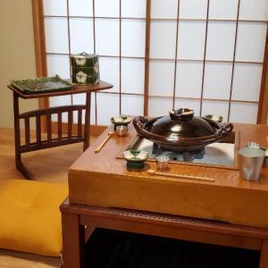 エミココテーブルコーディネート☆囲炉裏のお部屋でしっとりと。。❣️