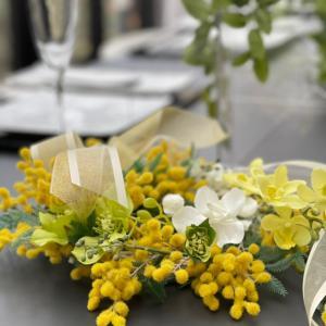 エミココフラワー&ランチレッスン☆3月のランチタイムは春野菜一杯でね~❣️