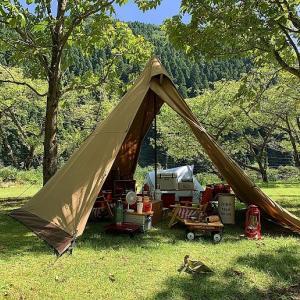 夏キャンプの朝食におすすめ!冷たくて食べやすい流しそうめん。