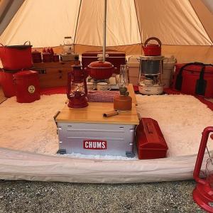 テントの防寒対策を徹底的にしなければ冬キャンプは快適に過ごせない!我が家のテントの防寒対策を詳しくブログで紹介。