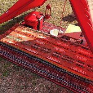 冬キャンプの寝袋は値段の安いものでも大丈夫!寝袋を重ねるとかなり暖かいです。