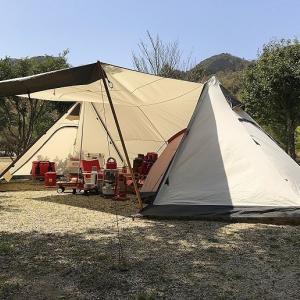 キャンプで1泊2日のスケジュールを詳しく紹介!年間50泊する我が家の過ごし方。