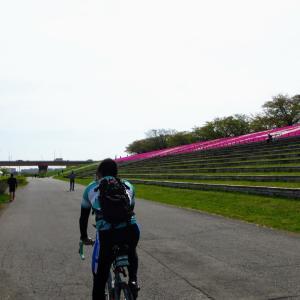 酷暑の荒サイサイクリング