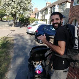 赤ちゃんの散歩ついでにケンブリッジ大学のカレッジ内に潜入
