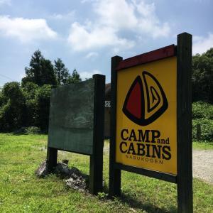 夏休み  キャンプ&キャビンズ  1日目