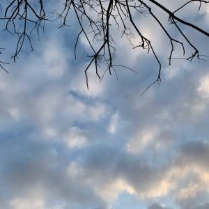 オサンポ walk - 空sky: へのへの... the cloud seems...