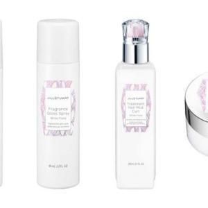 ジルスチュアート【2021夏コスメ/予約販売情報】ホワイトフローラルの香りのヘアスタイリングアイテム