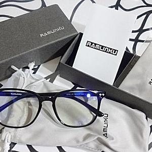 ★本気でLED育毛を始めてるので目を守るメガネを買いました。