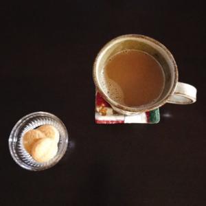 クッキーとスティックコーヒー