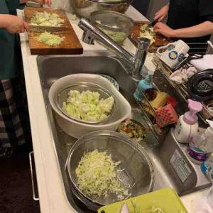 小松市の子ども食堂ボランティアにて