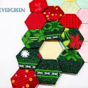 今年は…ヘキサゴンで作るクリスマスブーツ