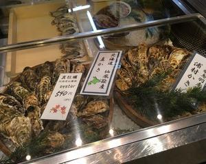 205/ 京都の牡蠣@錦市場