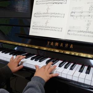 今日から新しいピアノテキストだよ