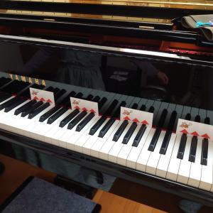 小学1年生さん  ピアノ体験レッスンどうもありがとうございました