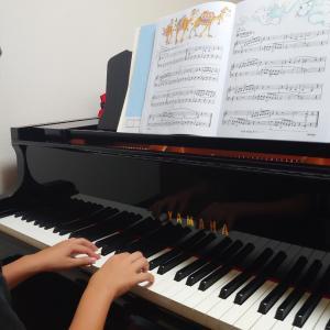 連休あけピアノレッスン再開です!