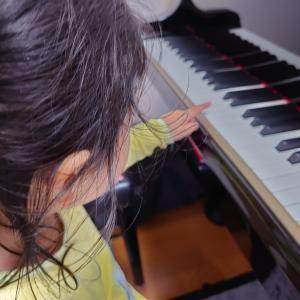 3才児ピアノレッスンスタート!