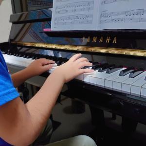 小学生ピアノ   ふたりで音楽を作る