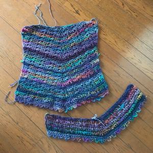 3玉編みました