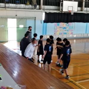 12月6日㈰ 岡本中学校 練習試合