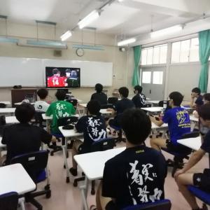 日本対ブラジル戦観戦