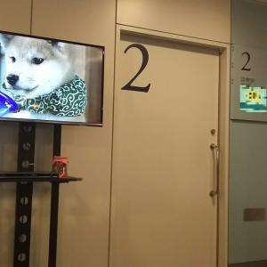 待合室での風景