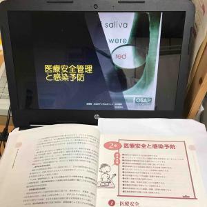 長崎歯科衛生士専門学校2年生の講義