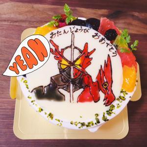 息子の誕生日♥セイバーケーキ@銀杏や さん