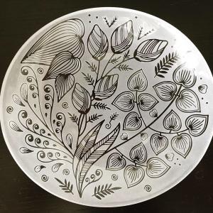 楕円皿完成